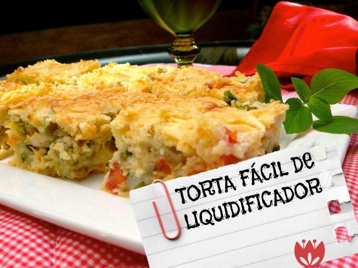 Torta de Legumes de liquidificador-receita