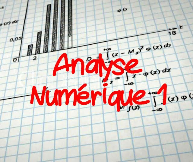 Cours Analyse Numérique