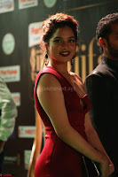 Natasha Nebasha in a Leg Slit Sleeveless Stunning Red Gown at IIFA Utsavam Awards 2017 039.JPG