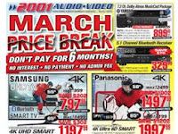 2001 Audio Video Flyer valid March 23 - 29, 2018