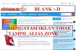 Cara Mudah Mengatasi Iklan Adsense Tidak Muncul atau Blank Pada Blog