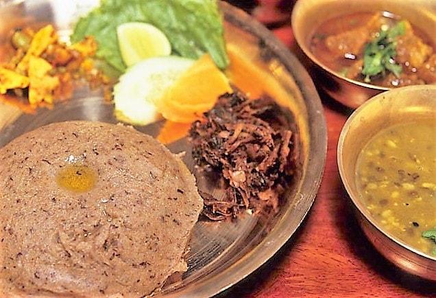 Dhido - Nepali Food
