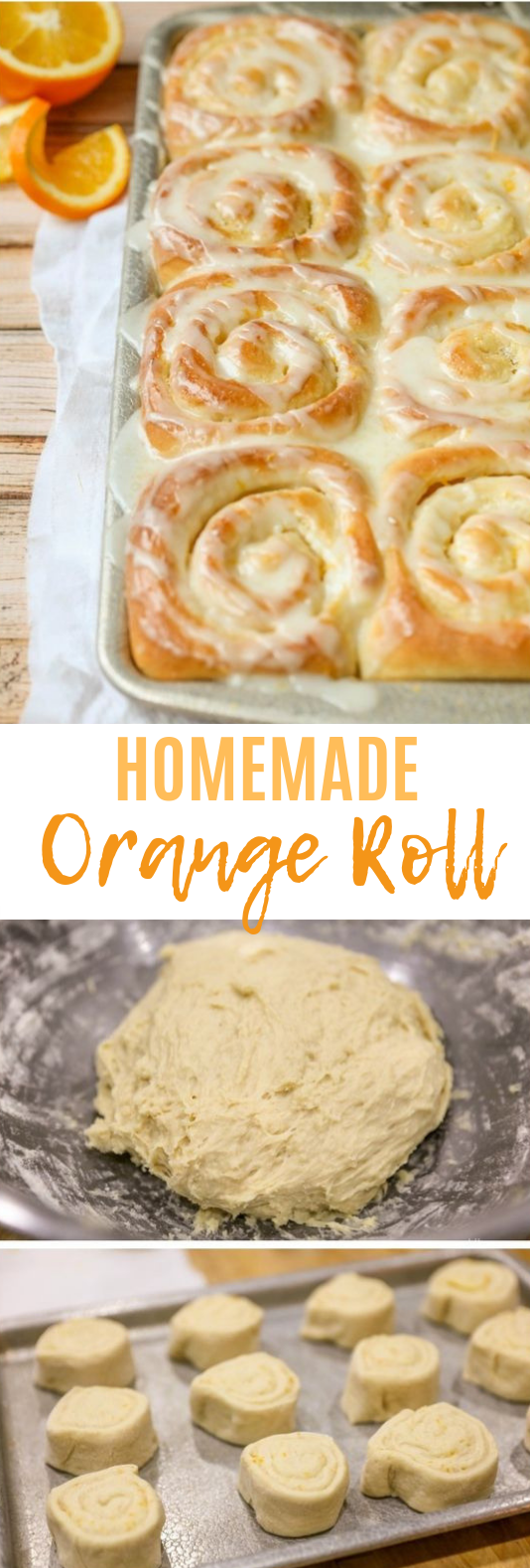 Orange Rolls #bread #orange