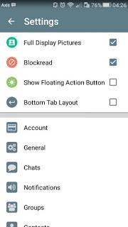 BBM MOD Kimochi Messenger v3.1.0.13 APK Update New Style 2016