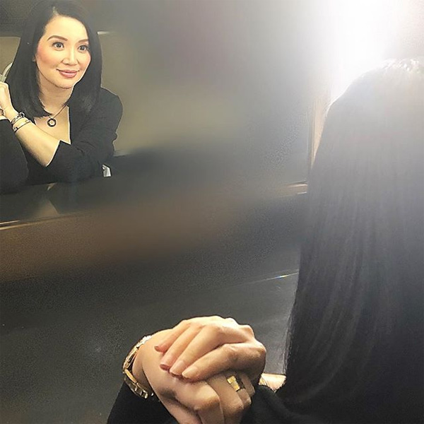 Kris Aquino's smile from the heart is back again