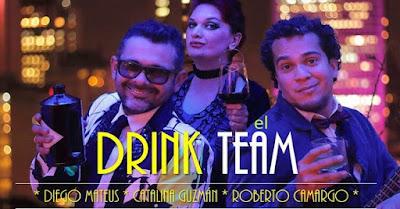 EL DRINK TEAM DE LA COMEDIA - Revolution Bar Bogota