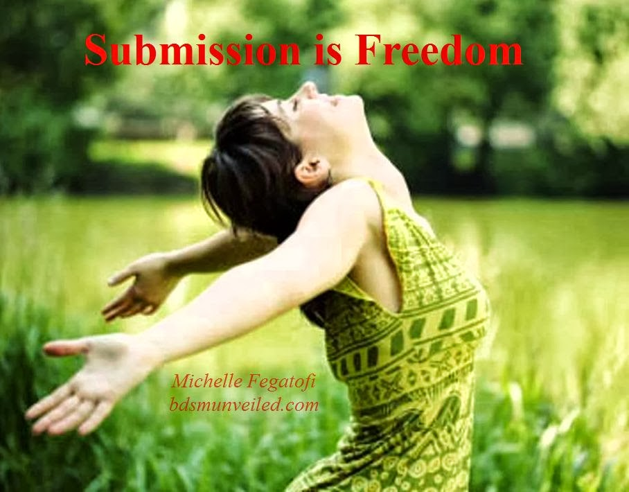 Submission is freedom