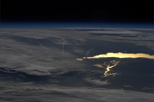 lake from iss