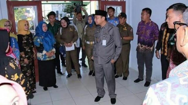Bupati Lampung Utara Mendadak Sidak