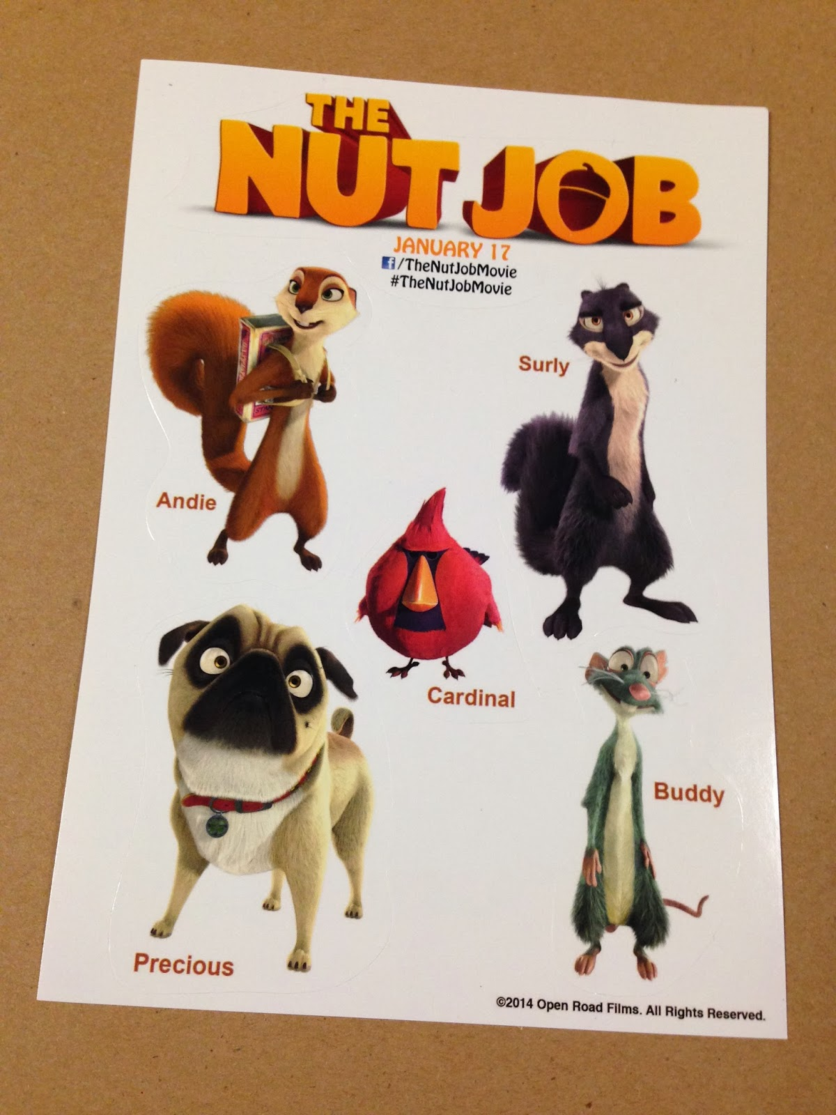All This And Heaven: A NUTTY Sweepstakes in honor of the ... |The Nut Job People Characters