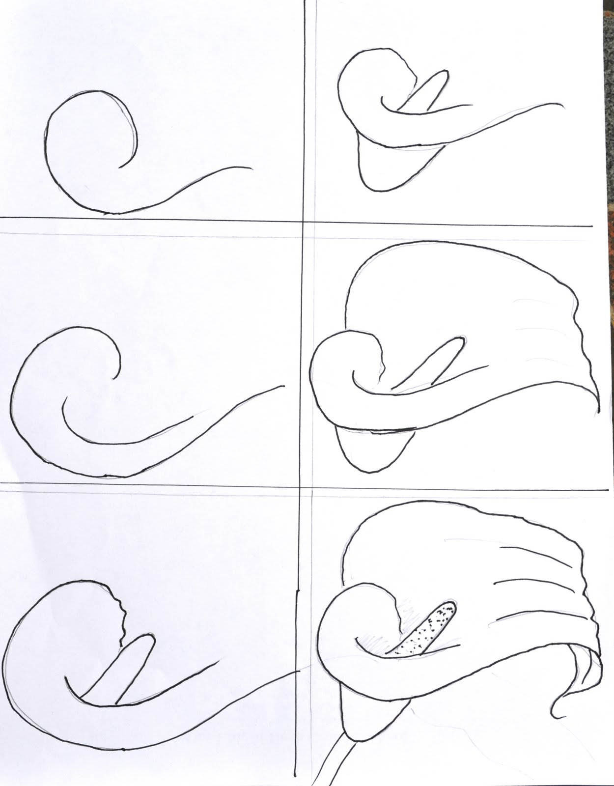 Flower Drawing Step By Step | www.imgkid.com - The Image ...