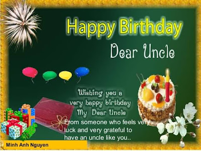 Happy Birthday wishes quotes for uncle: wishing you a very happy birthday my dear uncle