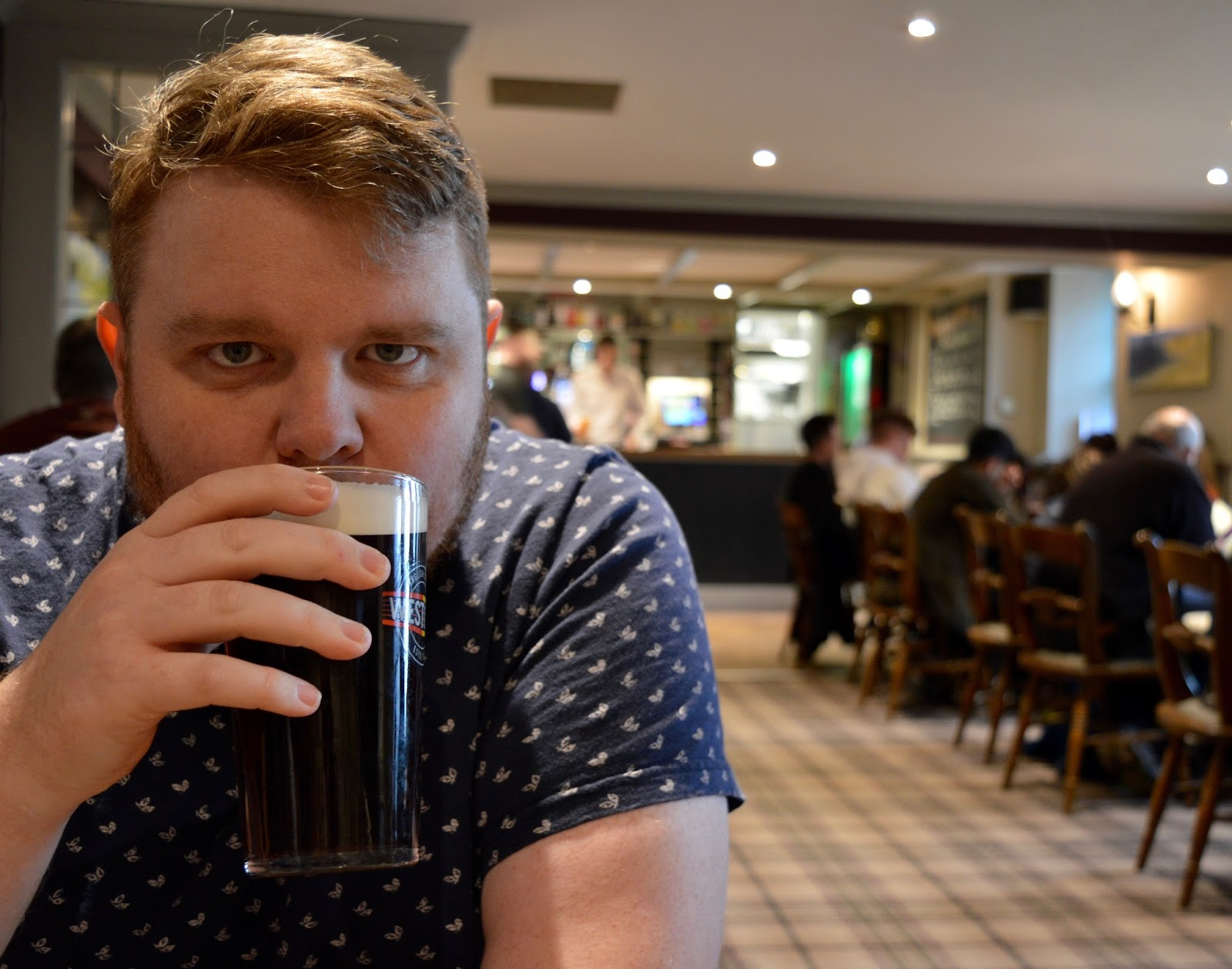 The Craster Arms, Beadnell   A Review featuring a very good Northumberland Country Pub.  - local ale
