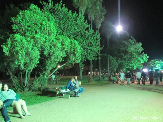 Parque Farroupilha ou Parque da Redenção em Porto Alegre