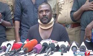 Lawrence speech at press meet after violence in jallikattu protest