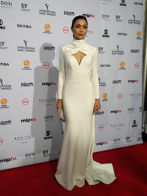 Jodi Sta. Maria Stuns Everyone With Her White Gown at The International Emmys!