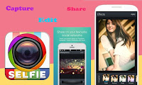 Download the latest and updated version of Candy Camera and Take HD Selfies