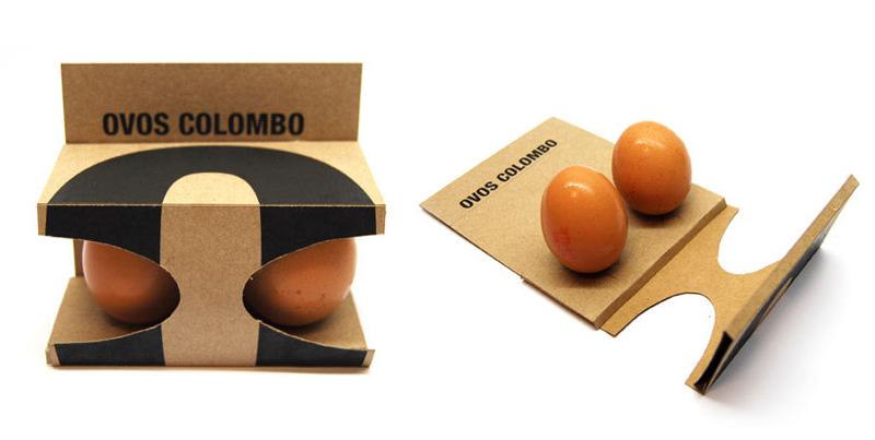 Originales dise os de packaging de huevos maria victrix - Envases de huevos ...