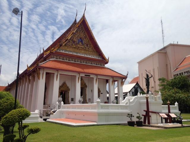 Thai architecture at the Bangkok national museum