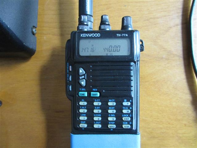 Kenwood TH-77A UHF VHF