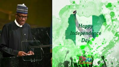 Buhari @ Independence day