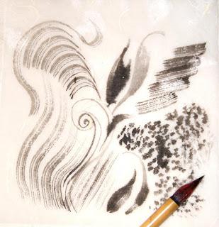 Кисть «Маковый цвет» для живописи, для гунби из шерсти ласки (№50)
