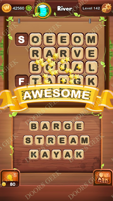 Word Bright Level 142 Answers, Cheats, Solutions, Walkthrough for android, iphone, ipad and ipod