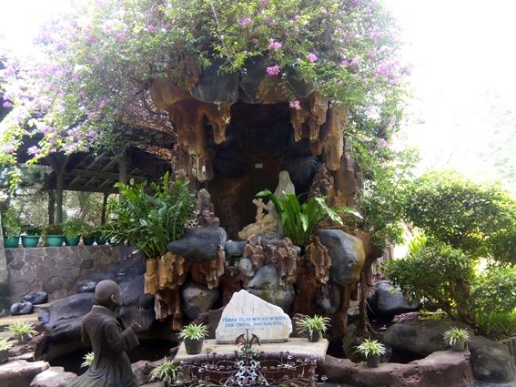 Ziarah Rohani ke Goa Maria Laverna Pringsewu Lampung