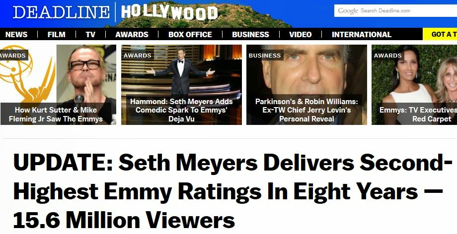 Aksarbent Donald Trump Vs Reality Emmy Version