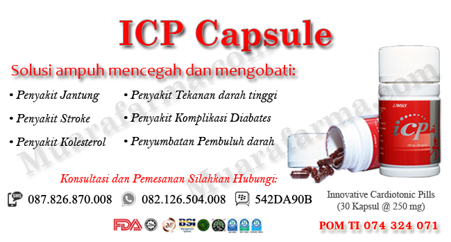 Beli Obat Jantung Koroner ICP Capsule Di Tarakan, agen icp capsule tarakan, harga icp capsule tarakan, icp capsule, icp kapsul, tasly icp capsule