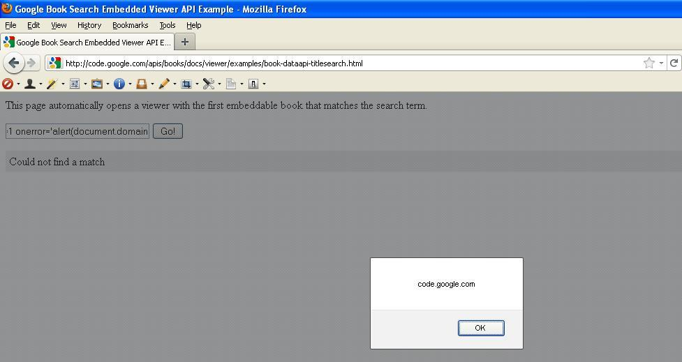 CSRF Protection bypass with XSS in Google Code | Secure Belief