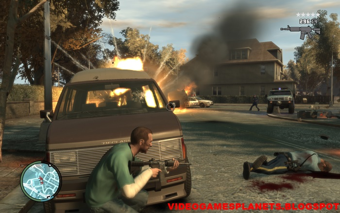 Download GTA 4 in parts (4 6 GB) Highly compressed pc game