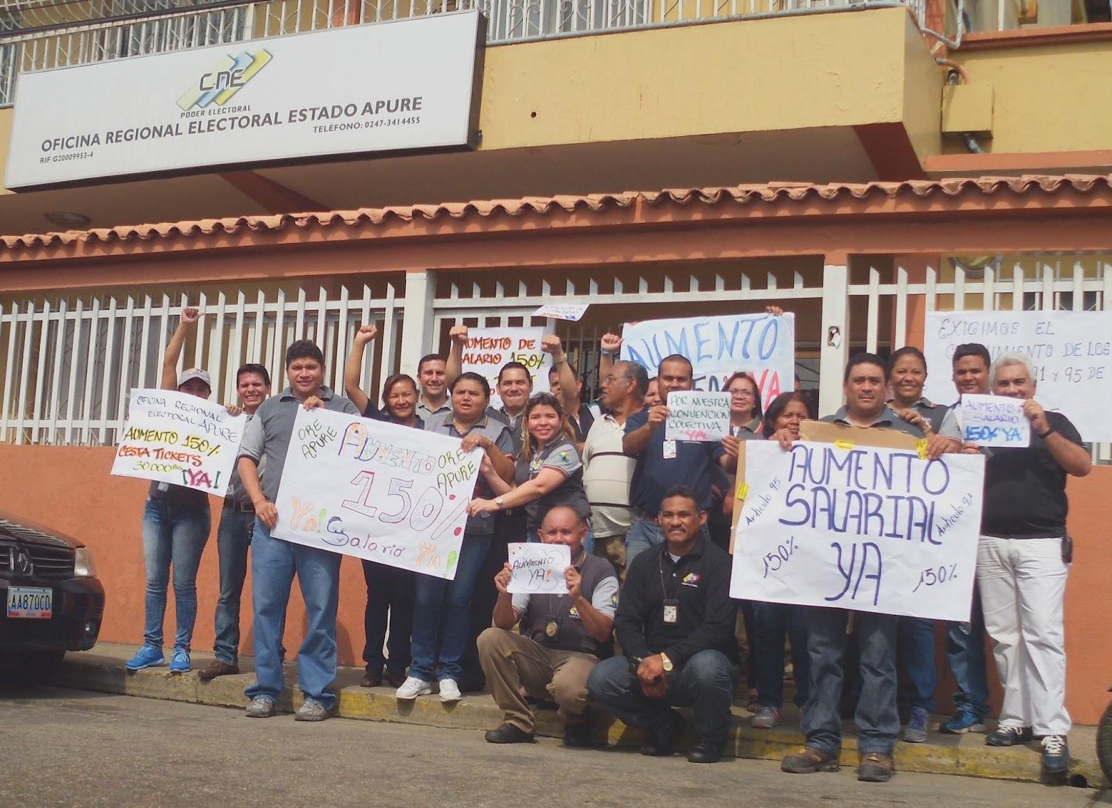 video trabajadores de la oficina regional electoral en