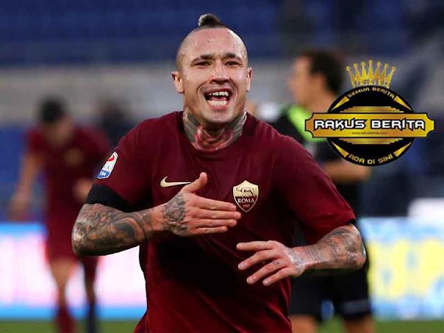Rumor Ketertarikan MU, Nainggolan Konfirmasikan Bahagia Di Roma