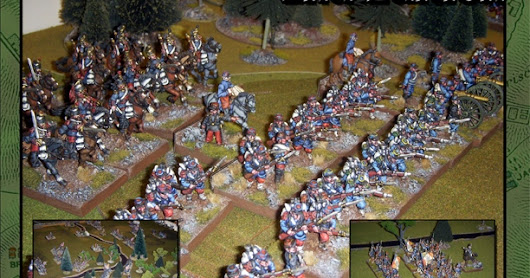 Nine Years War action with Field Of Battle at Le Ducs