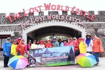 Paket Wisata Jogja 2 Hari - Kaliurang Park Lost Castle