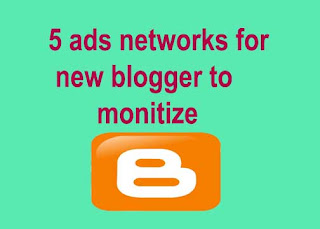 Best ads networks for new blogger with fast aprove