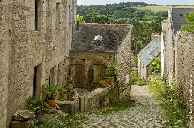 Pont-Croix pueblos Bretaña viaje Francia coche