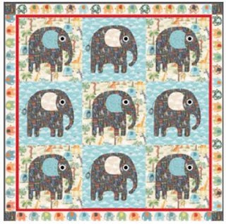 Quilt Inspiration: Free pattern day: Baby quilts ! (part 1) : elephant quilt patterns - Adamdwight.com