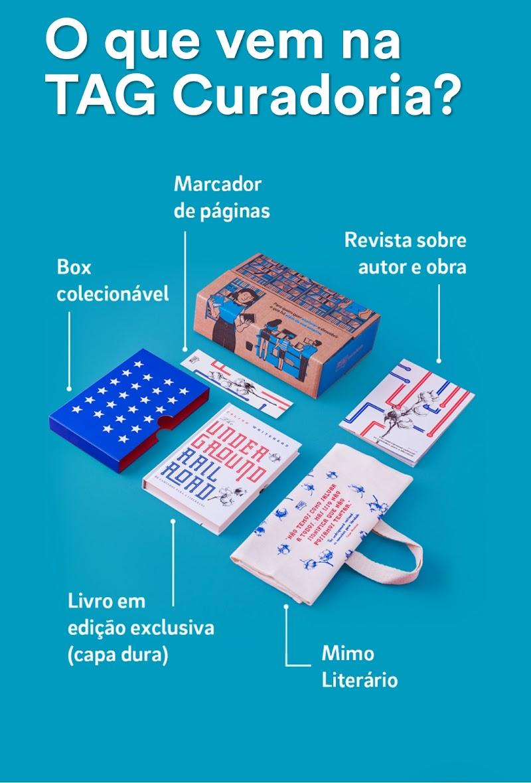 Conheça a Tag livros