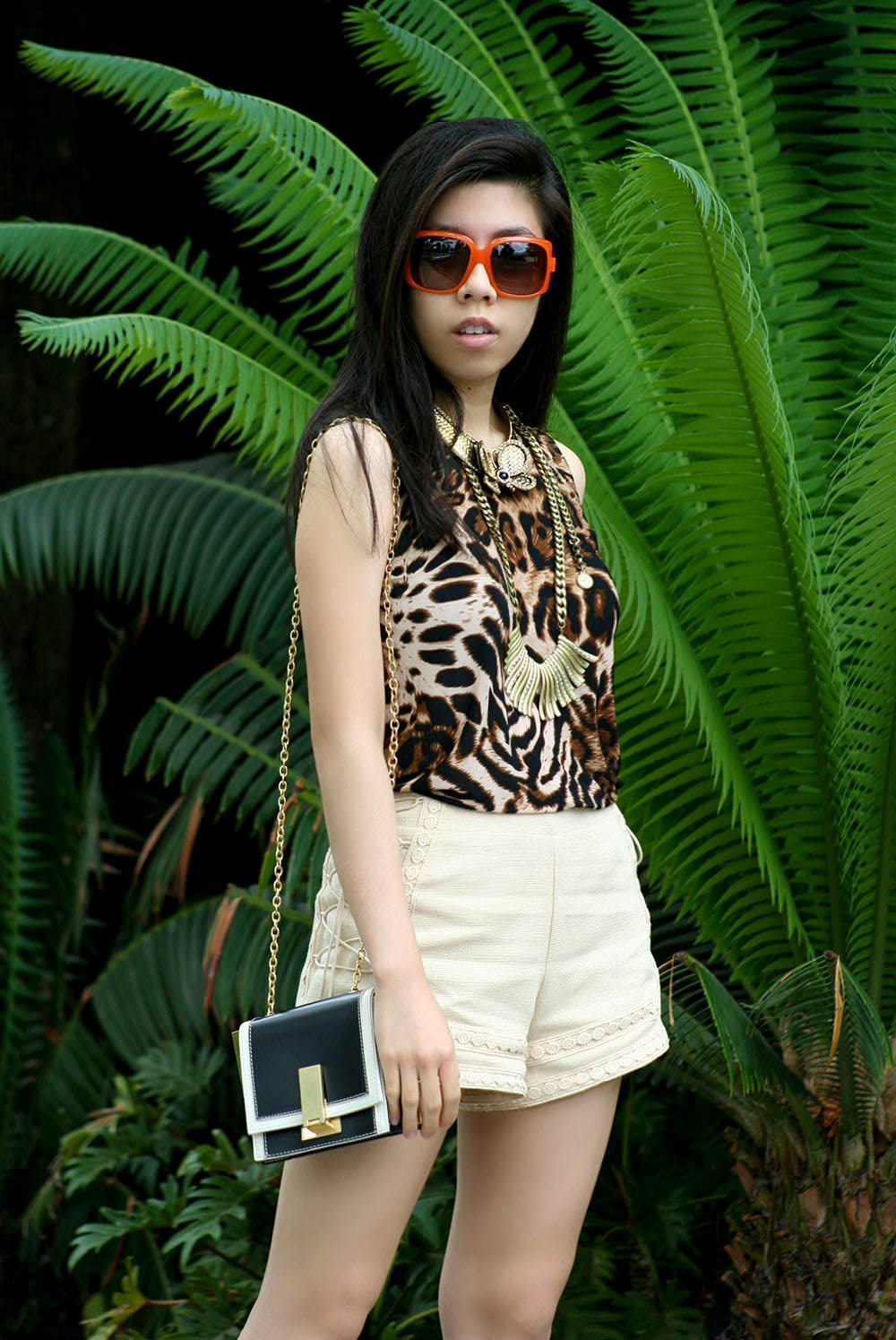 Leopard Dress_DOlce and Gabbana_fashion blogger_Adrienne Nguyen_Invictus