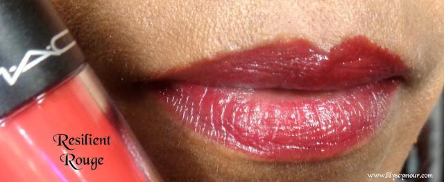 Mac Risilient Rouge Versicolour Lip Stain