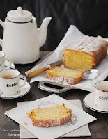 "Cake Quatre Quarts ""cuatro cuartos"" con manzana"