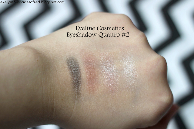 Eveline Quattro Eyeshadow 02