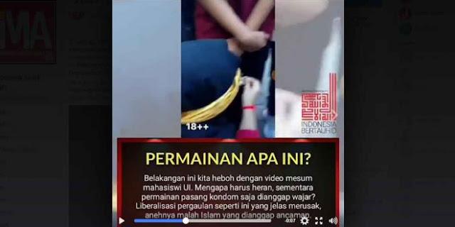 (Video) Na'udzubillah, CIMSA adakan Lomba Cepat-Cepatan Pasang Kond*m, Pemenangnya yang Tercepat