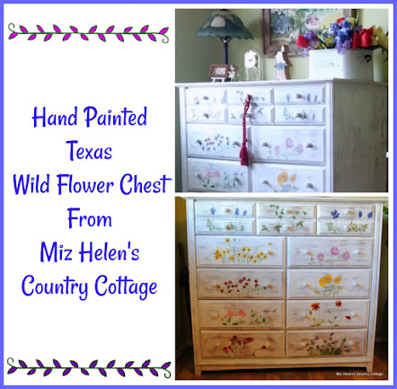 Texas Wild Flower Chest