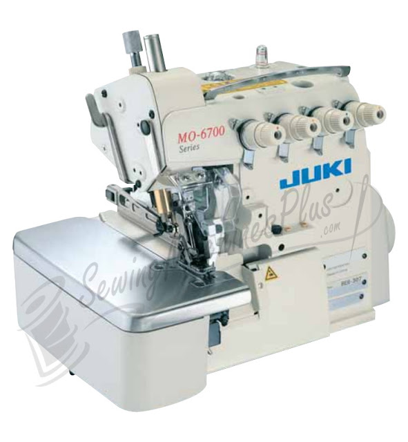 Juki MO6743S 6Thread Serger 4.8mm Overlock +Safety Stitch Serger w/Table and Motor (Table comes assembled)