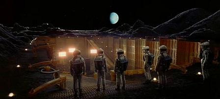 2001 Űrodüsszeia jelenet