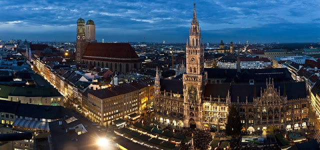 Como ir de Berlim até Munique