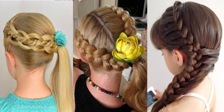 Cute Formal Hairstyles For Little Bridesmaids